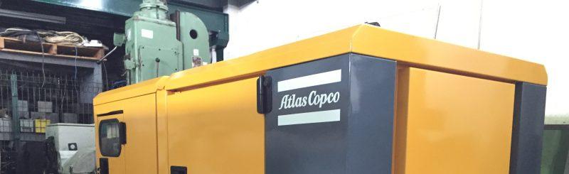 Generator set Atlas Copco QAS 30