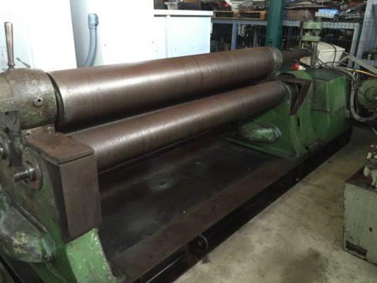 Calandra Hidráulica 3 Rolos Herkules Wetzlar, Roll Bending Machine 3 Rolls Herkules Wetzlar