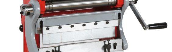 3 em 1 Quinadeira, Guilhotina, Calandra UBM305 / Combined sheet Machine 3 in 1 UBM305