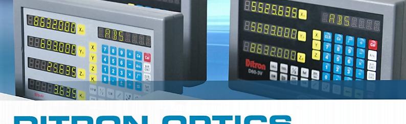 Conjunto Digital 3 eixos para Fresadora, Torno ou Retificadora /  3 Axis Digital Set for Milling, Lathe or Grinding Machine